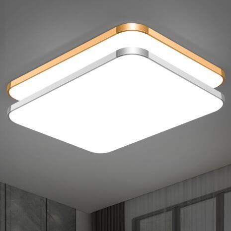 吸頂燈 LED長方形遙控大氣客廳燈具現代簡約臥室燈陽臺燈餐廳燈飾 - 古梵希