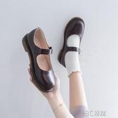 日系小皮鞋女英倫秋季學生學院風復古瑪麗珍鞋軟妹基礎款jk制服鞋 3C優購