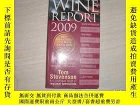 二手書博民逛書店WINE罕見REPORT 2009 TOM STEVENSON【052】Y289578 WINE REPORT