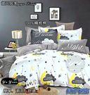 【床罩組 】★精梳棉五件式★6*7尺 /大膽玩色系列/ 雙人特大 5件式床罩組 ☆美好夜晚☆  MIT