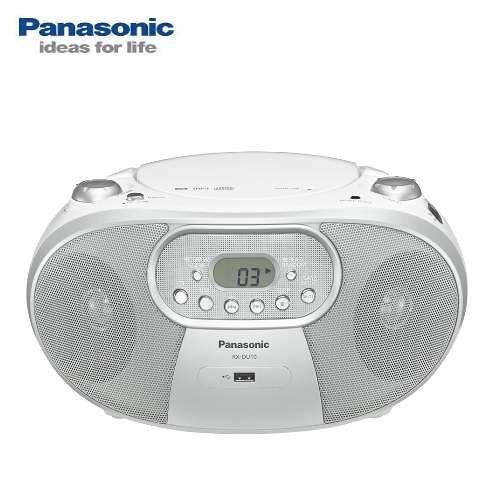 【Panasonic國際牌】MP3/USB手提音響 RX-DU10 送音樂CD 白色款