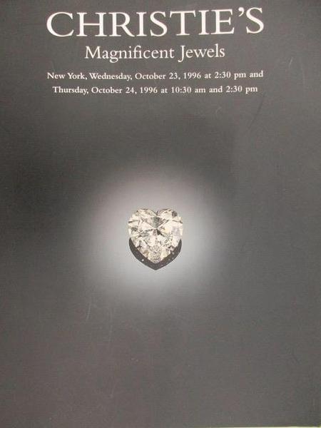 【書寶二手書T2/收藏_DOM】Christie s_Magnificent Jewels_1996/10/24