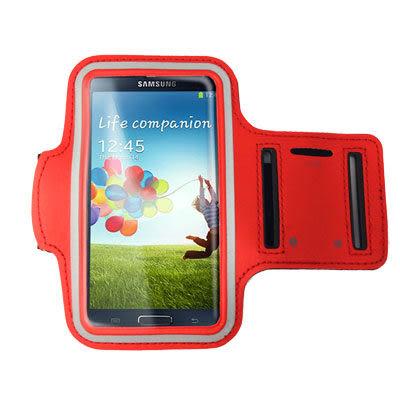 (3折)手機專用運動臂套(三星/小米/HTC/SONY 5吋以下手機通用) 紅