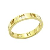 Tiffany & Co 蒂芬妮 18K金鑲鑽石鏤空戒指  【二手名牌 BRAND OFF】