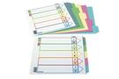 自強牌  五段拱型夾分段紙(24包裝)