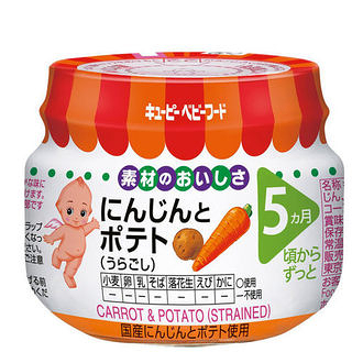 KEWPIE 胡蘿蔔馬鈴薯泥70公克