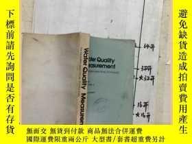 二手書博民逛書店Water罕見Quality Measurement 水質測量Y