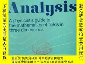 二手書博民逛書店Vector罕見Analysis: A physicist s