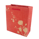{澄明茶心-紅}四兩茶包兩入手提袋 (50入/組) 紙袋 禮物袋 包裝 高山茶