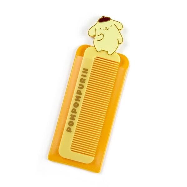 小禮堂 布丁狗 塑膠扁梳 附套 (1970s系列) 4550337-87743