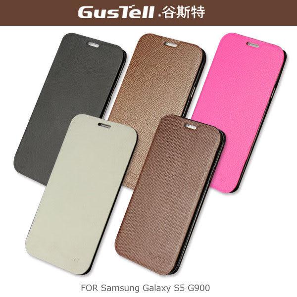 ☆愛思摩比☆GUSTELL 谷斯特 Samsung Galaxy S5 G900 真皮皮套 可立皮套 超薄設計 卡夾皮套