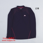 Kappa 女生 吸濕 排汗 長袖Polo衫 / FA46-F229-3