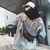超火潮牌街頭潮流斜挎小包單肩包嘻哈包手機包腰包蹦迪包男女 快速出貨