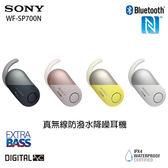 Sony WF-SP700N (贈原廠運動腰包) 藍牙真無線防潑水降噪耳機 公司貨一年保固