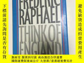 二手書博民逛書店frederic罕見Raphael think of engla