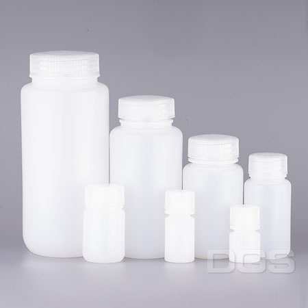 塑膠廣口試劑瓶 PE Bottle, Wide-Mouth, PE