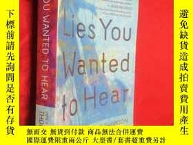 二手書博民逛書店Lies罕見you wanted to hear : a nov