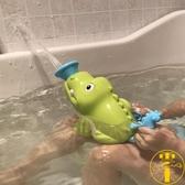 兒童洗澡玩具浴室洗澡沖涼戲水鯊魚噴水【雲木雜貨】