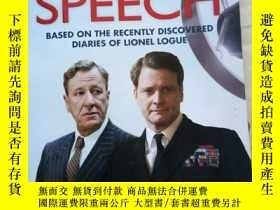 二手書博民逛書店The罕見Kings Speech: Based on the