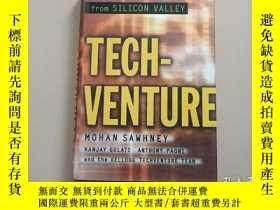二手書博民逛書店Tech-Venture:罕見New Rules on Valu