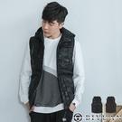 韓國製 專櫃迷彩連帽抽繩保暖背心【BA07】OBIYUAN 鋪棉背心外套 共2色