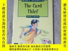 二手書博民逛書店The罕見Card Thief(附光盤)Y21478 Andre