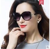 偏光太陽鏡圓臉女士墨鏡女潮款防紫外線眼鏡大臉優雅 夏季上新