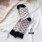 羊毛長襪女中筒襪秋冬加厚保暖日系堆堆襪【愛物及屋】