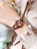 手錶女鎢鋼手錶女防水網紅時尚商務石英錶簡約氣質女錶薄【快速出貨限時八折】