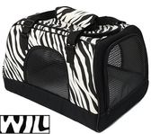 WILL設計 + 寵物用品 熱賣不敗設計款 肩背/手提/上推車 三用 寵物袋*時尚斑