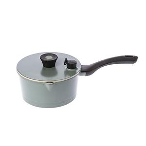 HOLA 陶瓷不沾導磁單柄湯鍋18CM-綠