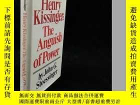 二手書博民逛書店1976年罕見Stoessinger Henry Kissing
