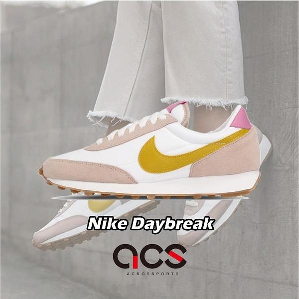 Nike 休閒鞋 W Daybreak 白 粉紅 黃 女鞋 運動鞋 【ACS】 CK2351-200
