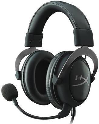 金斯頓 HC2 電競耳機 金屬灰