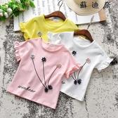 女童夏裝寶寶2純棉短袖t恤