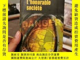 二手書博民逛書店L Honorable罕見Societe (外文原版)Y291818 Dominique Manotti fo