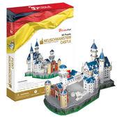 A1014【3D Puzzle 立體拼圖】世界建築豪華版-新天鹅城堡(德國)