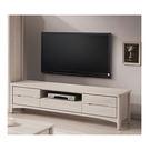 【森可家居】瑪奇朵6尺電視櫃 7ZX374-4 長櫃 木紋質感 無印風 北歐風  刷白
