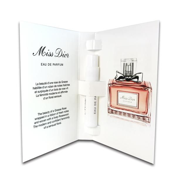 Dior迪奧 Miss Dior香氛/淡香精 針管 1ml【UR8D】