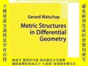 二手書博民逛書店Metric罕見Structures In Differential Geometry-微分幾何中的度量結構Y