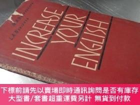 二手書博民逛書店Increase罕見Your English【32開 英文版】提高你的英語水平Y16472 M.A.Brand