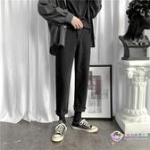 牛仔褲 男春季寬鬆直筒九分褲韓版潮流黑色顯瘦百搭休閑子潮 【8折搶購】