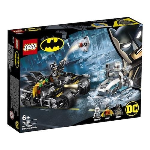 LEGO 樂高 76118 Mr. Freeze Batcycle Battle