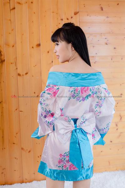 衣美姬♥媚誘女神!日本妹角色扮演 演出表演服 夜晚情趣戰袍 辣妹攝影服開岔和服浴袍