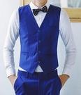 找到自己品牌 韓國男 三件式西裝外套 成套西裝 修身西裝 西裝外套 馬甲+褲子+襯衫
