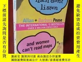 二手書博民逛書店WHY罕見MEN DONT LISTEN and WOMEN C