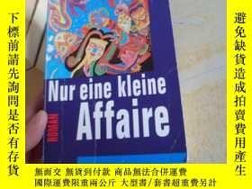 二手書博民逛書店德文原版【Nur罕見eine klene Affaire】Y17