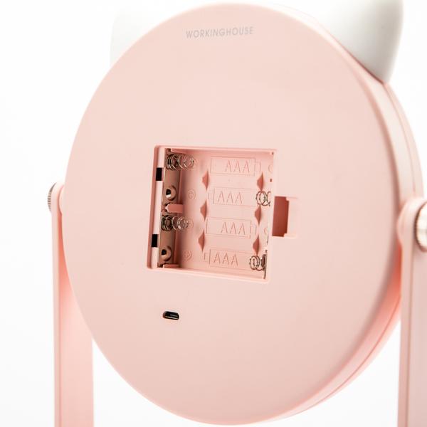 LED美肌收納兩用貓咪座鏡-生活工場