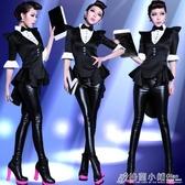 爵士舞蹈服女年會表演成人魔術師燕尾服裝夜店dj性感ds演出服韓版 格蘭小舖