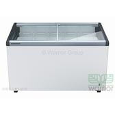 德國利勃LIEBHERR 4尺2 弧型玻璃推拉冷凍櫃250L(EFI-3553)附LED燈